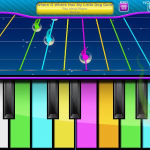 Play Along Keys  piano karaoke messages sticker-4