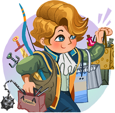 Shop Heroes: Trade Tycoon messages sticker-10