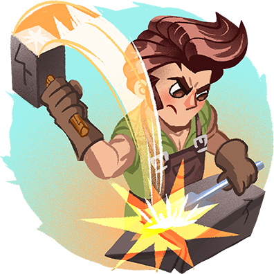 Shop Heroes: Trade Tycoon messages sticker-9