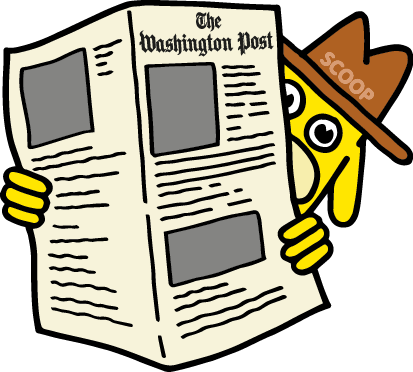 The Washington Post messages sticker-5
