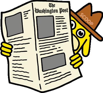 The Washington Post messages sticker-5