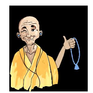 Méditer avec Petit BamBou messages sticker-3