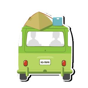 Roadtrippers - Trip Planner messages sticker-1