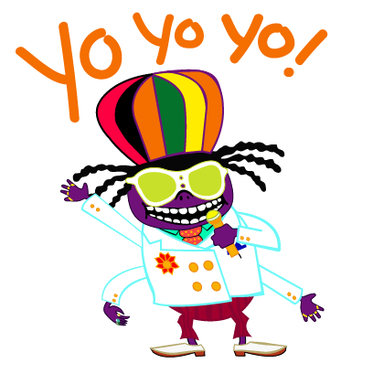 PaRappa the Rapper™ Stickers messages sticker-9