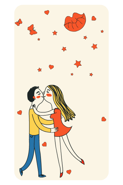 Hugs & Kisses - Your Valentine's Day wallpaper messages sticker-10