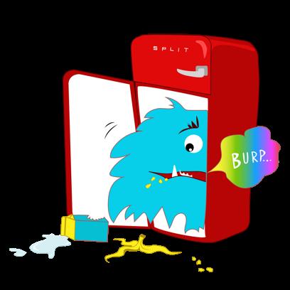 acasa - set-up & split bills messages sticker-9