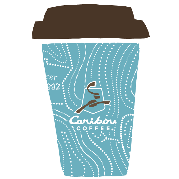 Caribou Coffee messages sticker-0