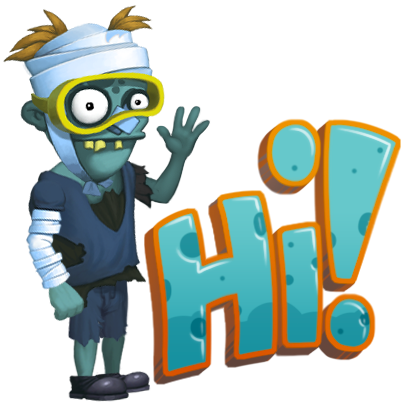 Zombie's Got a Pogo messages sticker-6