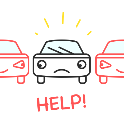 Carfriend -> Drive and dating messages sticker-8