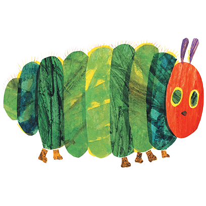 My Very Hungry Caterpillar messages sticker-2