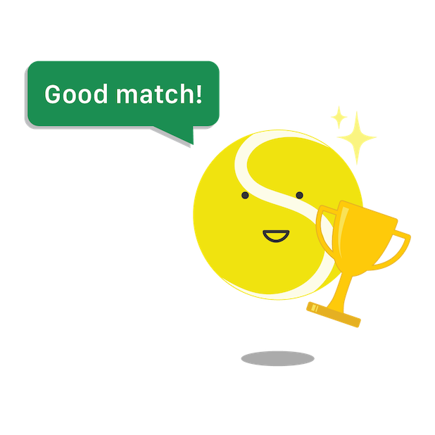 Swing Tennis Score Tracker Tennis Activity Tracker messages sticker-6