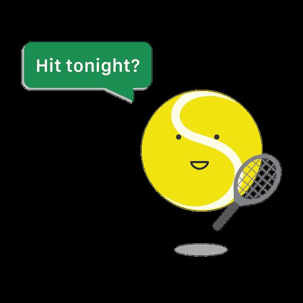 Swing Tennis Tracker messages sticker-1