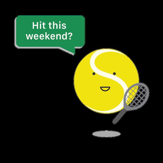 Swing® Tennis Tracker messages sticker-3