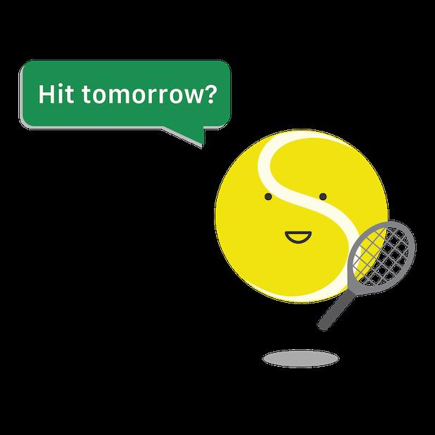 SwingVision - A.I. Tennis App messages sticker-2