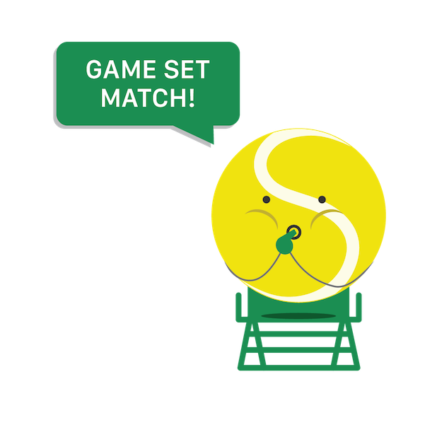 SwingVision: Tennis at Home messages sticker-7