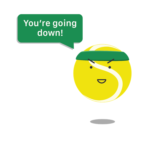 SwingVision: Tennis at Home messages sticker-4