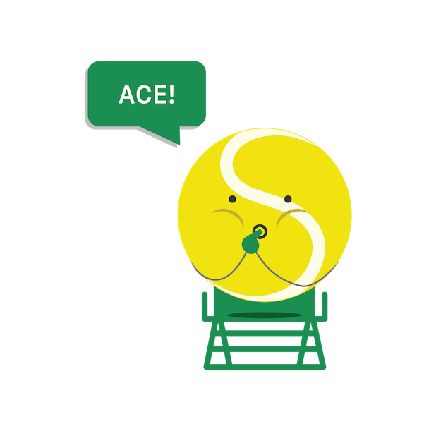 SwingVision: Tennis at Home messages sticker-8