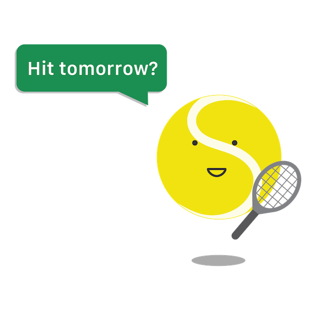 SwingVision: Tennis at Home messages sticker-2