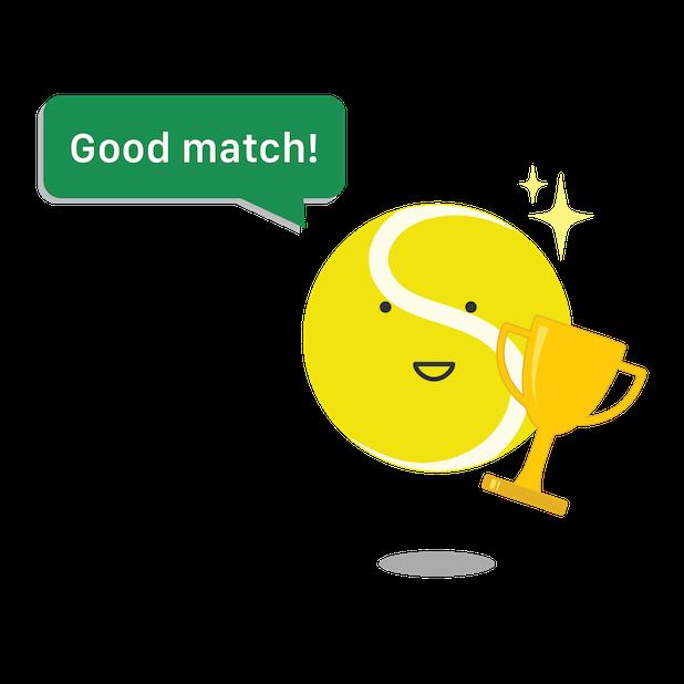 SwingVision: The Tennis App messages sticker-6