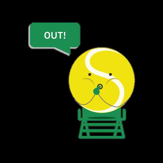 SwingVision: The Tennis App messages sticker-9