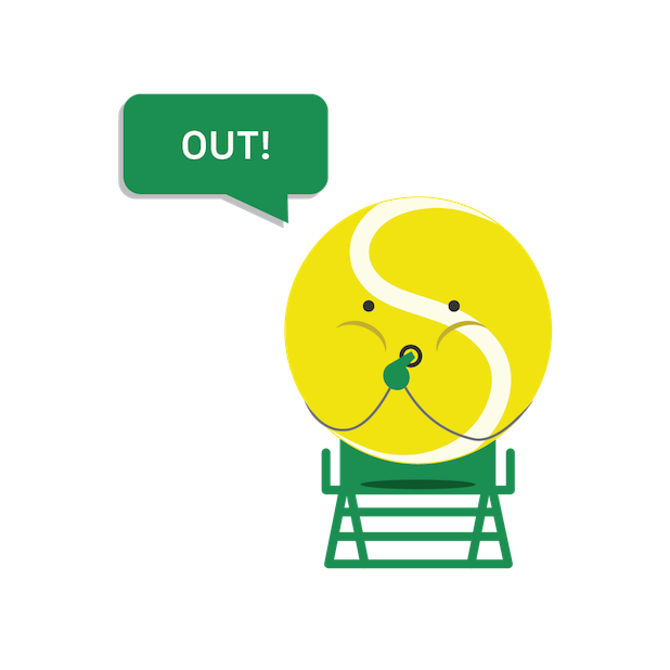 SwingVision: A.I. Tennis App messages sticker-9
