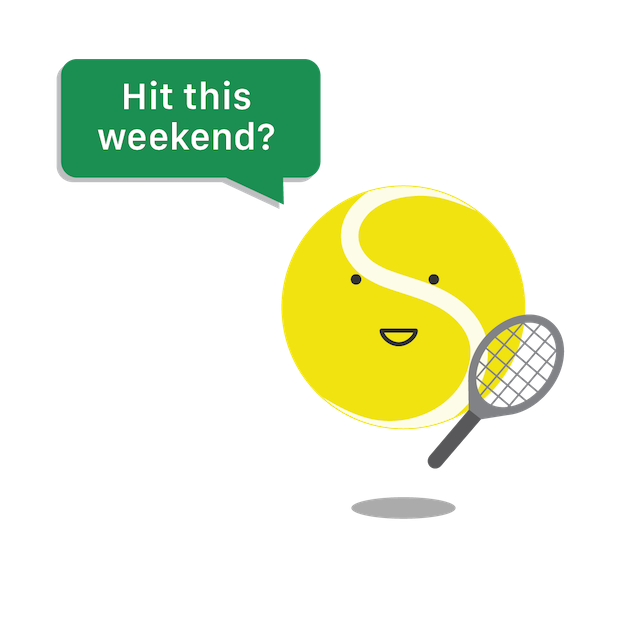 SwingVision: A.I. Tennis App messages sticker-3
