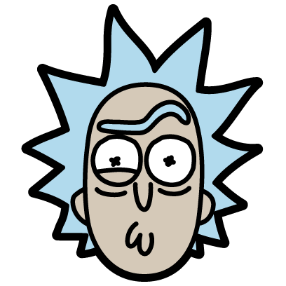 Rick and Morty: Pocket Mortys messages sticker-1