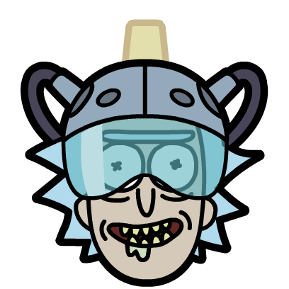 Rick and Morty: Pocket Mortys messages sticker-4